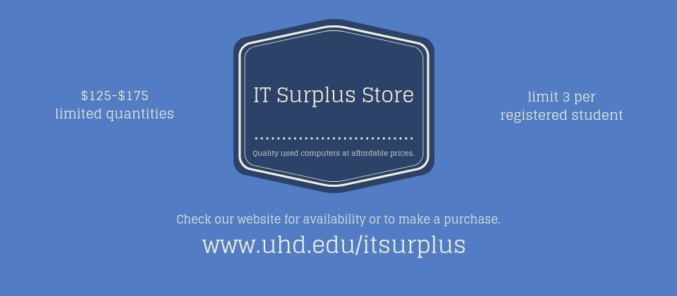 IT Surplus Store ad