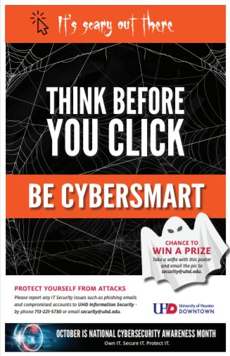 cyber security awareness poster