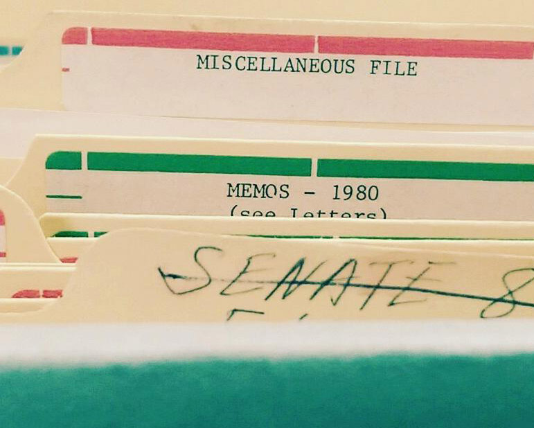 file folders labeled miscellaneous