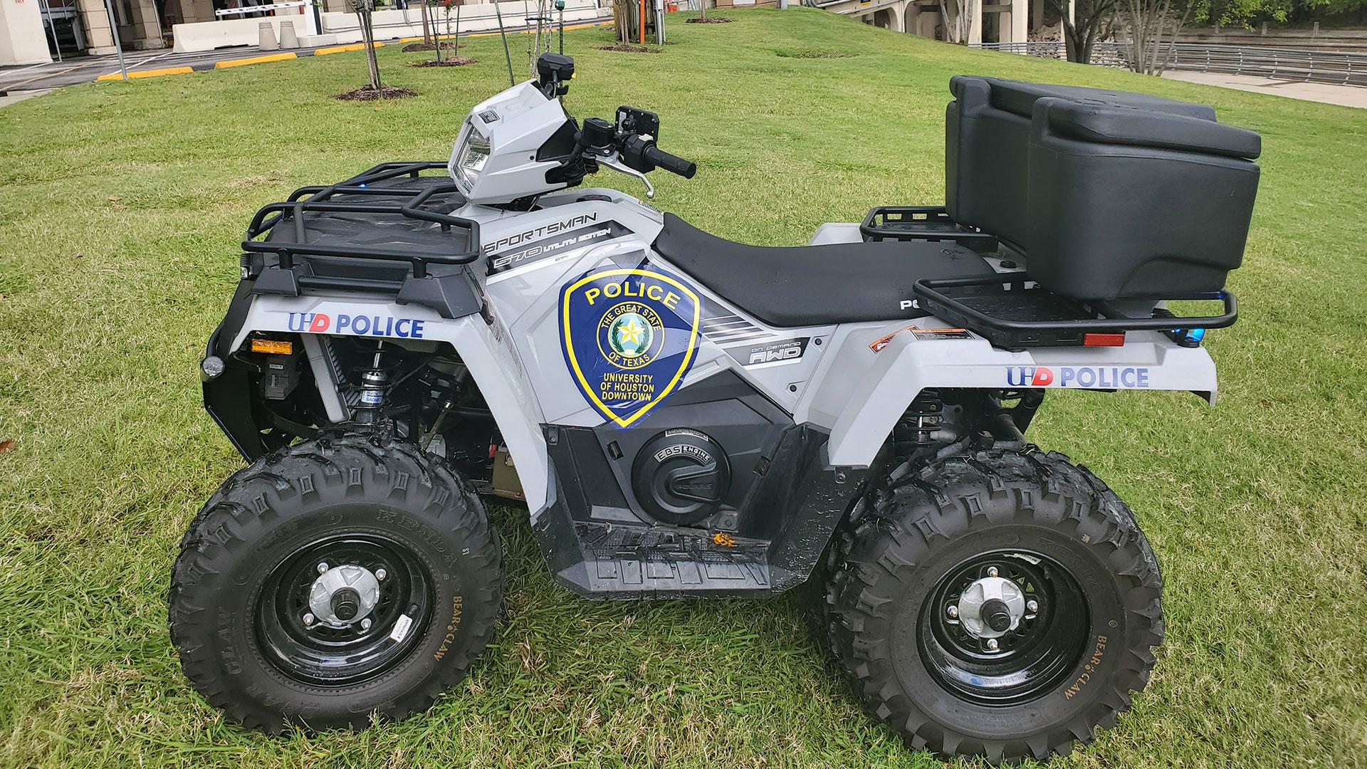 UHD Police Department ATV