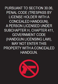 campus carry sign english