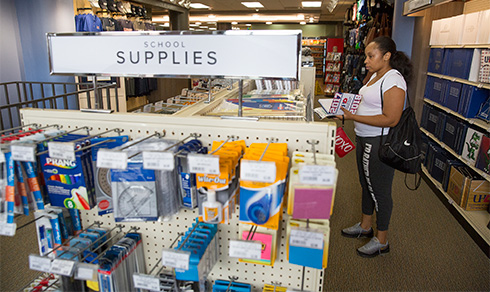 UHD bookstore and supplies