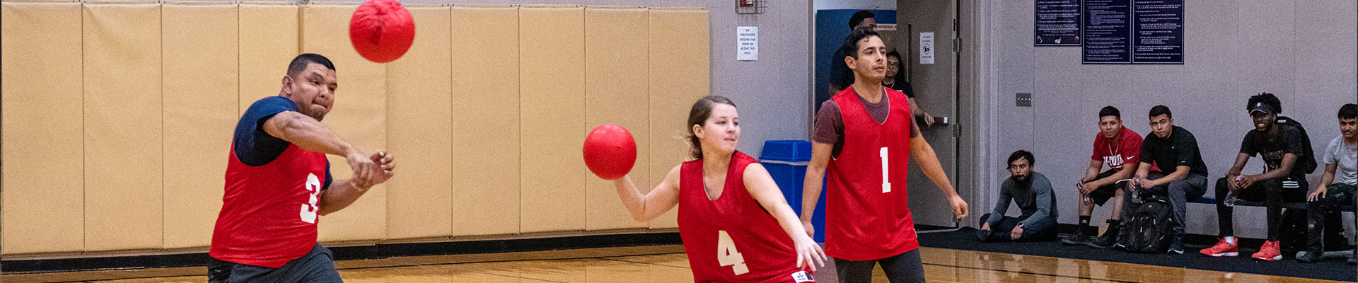 image of dodgeball player
