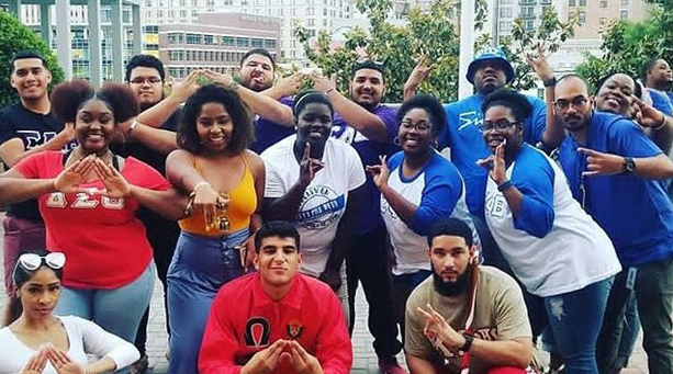 Greek Organizations at UHD
