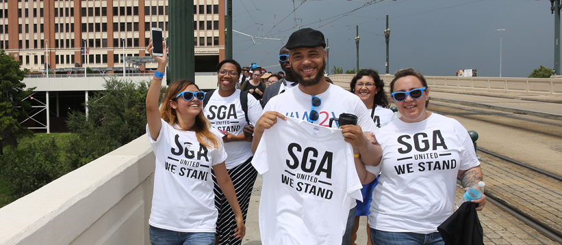 SGA at University of Downtown
