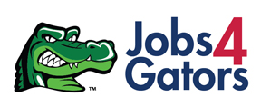 jobs for gators logo linked to job opportunities