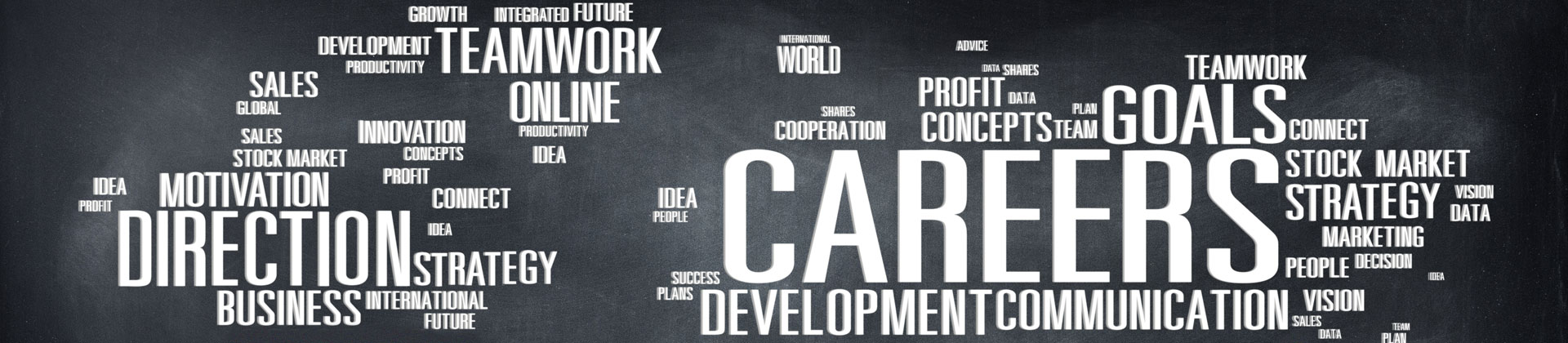 word compliation related to the subject of career