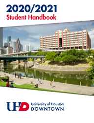 2020-2021 Student Handbook cover